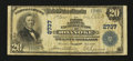 National Bank Notes:Virginia, Roanoke, VA - $20 1902 Plain Back Fr. 650 The First NationalExchange Bank Ch. # 2737. ...