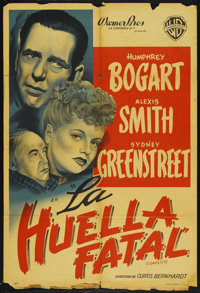 """Conflict (Warner Brothers, 1945). Argentinean One Sheet (29"""" X 43"""")"""