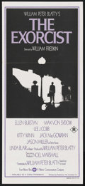 "Movie Posters:Horror, The Exorcist (Warner Brothers, 1973). Australian Daybill (13"" X30""). Horror. Starring Ellen Burstyn, Linda Blair, Max von S..."
