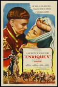 """Movie Posters:Drama, Henry V (Universal-International, 1945). Argentinean One Sheet (27"""" X 41""""). ..."""