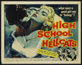 "Movie Posters:Bad Girl, High School Hellcats (American International, 1958). Half Sheet(22"" X 28""). ...."