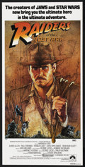 "Movie Posters:Adventure, Raiders of the Lost Ark (Paramount, 1981). Australian Daybill (13""X 30""). Adventure. Starring Harrison Ford, Karen Allen, P..."