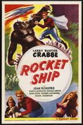 """Movie Posters:Science Fiction, Rocketship (Filmcraft, R-1950s). One Sheet (27"""" X 41""""). ..."""