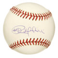 "Autographs:Baseballs, Rob Dibble Single Signed Baseball. Rob Dibble, one of the so-called""Nasty Boys"" added his near perfect (9+/10) signature t..."