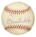 Autographs:Baseballs, 2003 Game Used Baseball Signed by David Wells. From the New YorkYankees' 100th Anniversary in 2003 we offer this fine game...