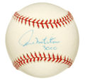 Autographs:Baseballs, Paul Molitor Single Signed Baseball. Hall of Fame member and seventime American League All-Star, Molitor penned this OAL (...