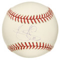 Autographs:Baseballs, Tony Clark Single Signed Baseball. Elected to the 2001 All-Starteam, Tony added his unique and stylish signature to the sw...