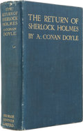 Books:First Editions, Arthur Conan Doyle. The Return of Sherlock Holmes. London:George Newnes, Ltd., 1905....