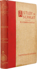 Books:Fiction, Arthur Conan Doyle. A Study in Scarlet. London: Ward, Lock& Bowden, Limited, 1894. New edition with a note on S...