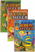 Bronze Age (1970-1979):Cartoon Character, Richie Rich Gold and Silver #1-24 File Copies Group (Harvey,1975-82) Condition: Average NM-.... (Total: 24 )