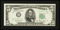 Error Notes:Skewed Reverse Printing, Fr. 1962-G $5 1950A Federal Reserve Note. Gem Crisp Uncirculated.....
