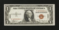 Small Size:World War II Emergency Notes, Fr. 2300 $1 1935A Hawaii Silver Certificate. Very Choice Crisp Uncirculated.. ...