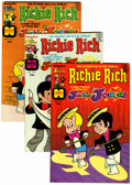 Bronze Age (1970-1979):Cartoon Character, Richie Rich and Jackie Jokers File Copies Group (Harvey, 1973-82)Condition: Average NM.... (Total: 48 )