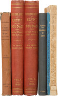 Books, Five Bibliographies Relating to Africa, including bibliographies ofthe Gold Coast, the literature of Egypt and the Soudan (... (Total:6 Items)