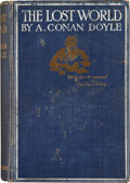 Books:First Editions, Arthur Conan Doyle. The Lost World. Being an account ofthe recent amazing adventures of Professor George E. Chall...