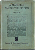 Books:First Editions, [Harry] Houdini. A Magician Among the Spirits. New York:Harper & Brothers, 1924. First edition. Octavo. xix, 29...