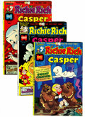 Bronze Age (1970-1979):Cartoon Character, Richie Rich and Casper #1-45 File Copies Group (Harvey, 1974-82)Condition: Average NM-.... (Total: 46 )