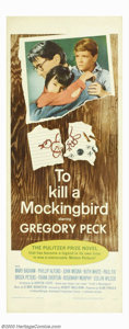 """Movie Posters:Drama, To Kill a Mockingbird (Universal, 1963). Insert (14"""" X 36"""") The insert and the Three Sheet are the only U.S. posters that de..."""