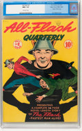 Golden Age (1938-1955):Superhero, All-Flash #2 Mile High pedigree (DC, 1941) CGC NM+ 9.6 Off-white pages....