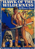Books:First Editions, William L. Chester. Hawk of the Wilderness. New York andLondon: Harper & Brothers Publishers, 1936.. First ed...