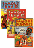Golden Age (1938-1955):Miscellaneous, Famous Funnies Group (Eastern Color, 1946-52) Condition: Average VF+.... (Total: 6 Comic Books)