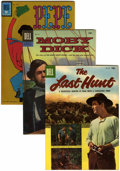 Golden Age (1938-1955):Miscellaneous, Four Color Movie Related Group (Dell, 1956-62) Condition: Average VF.... (Total: 5 Comic Books)