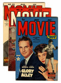 Golden Age (1938-1955):Romance, Movie Love #17, 21, and 22 File Copies Group (Famous Funnies, 1952-53).... (Total: 3 )