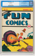 Platinum Age (1897-1937):Miscellaneous, More Fun Comics #26 Mile High pedigree (DC, 1937) CGC NM 9.4Off-white to white pages....