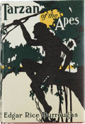 Books:First Editions, Edgar Rice Burroughs. Tarzan of the Apes. Chicago: A. C.McClurg & Co., 1914. . First edition, first printing,...