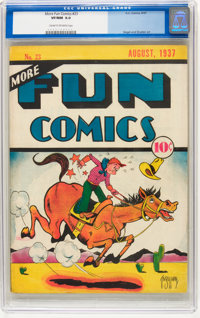 More Fun Comics #23 (DC, 1937) CGC VF/NM 9.0 Cream to off-white pages
