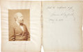 """Autographs:U.S. Presidents, James A. Garfield Autograph Note Signed as President. One page, 7.5"""" x 9.5"""", May 5, 1881, n.p., reading, """"With the res..."""