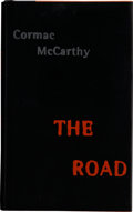 Books:First Editions, Cormac McCarthy. The Road. New York: Alfred A. Knopf, 2006.First edition. Octavo. 241 pages. Publisher's black clot...