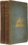 Books:First Editions, James Richardson. Travels in the Great Desert of Sahara.London: Richard Bentley, 1848. First edition. Two volumes. ...(Total: 2 Items)