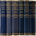 Books:Non-fiction, Arthur Conan Doyle. The British Campaign in France andFlanders. London: Hodder and Stoughton, n.d. [1920]. Fourthe... (Total: 7 Items)