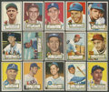 Baseball Cards:Lots, 1952 Topps Baseball Collection (18 Different). ...