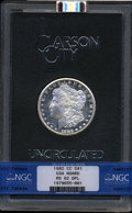 GSA Dollars, 1882-CC $1 GSA HOARD MS62 Deep Mirror Prooflike NGC. NGC Census:(76/235). PCGS Population (0/0). ...