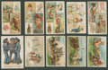"Non-Sport Cards:Lots, 19th Century ""N"" Tobacco Grab Bag Collection (25). ..."
