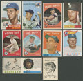 Baseball Cards:Lots, 1950's -1960's New York Yankees HoFers and Stars Collection (24)....