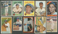 Baseball Cards:Lots, 1950's through 1960's Brooklyn and Los Angeles Dodgers Collection(10) With Koufax, Snider and Campy....
