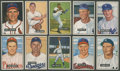 Baseball Cards:Lots, 1951 Bowman Baseball Collection of Stars and HoFers (21). ...