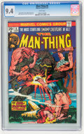 Bronze Age (1970-1979):Horror, Man-Thing CGC-Graded Group (Marvel, 1974-75) Condition: CGC NM9.4.... (Total: 4 )