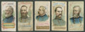 "Non-Sport Cards:Singles (Pre-1950), 1888 N78 Duke ""Histories of Generals"" Booklets (5)...."