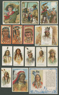 "Non-Sport Cards:Lots, 19th-20th Century ""T"" and ""E"" Native American/Western Collection(90). ..."