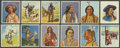 "Non-Sport Cards:Sets, 1930's Orientalische Cigarettes ""The Life of the Indian"" CompleteSet (240)...."