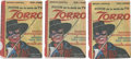 "Non-Sport Cards:Unopened Packs/Display Boxes, 1958 Walt Disney ""Zorro"" Unopened Packs Trio (3) From Argentina...."