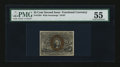 Fractional Currency:Second Issue, Fr. 1284 25¢ Second Issue PMG About Uncirculated 55....