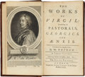 Books:First Editions, [John Dryden, translator]. The Works of Virgil:Containing his Pastorals, Georgics, and Æneis. London: JacobTon... (Total: 3 Items)
