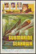 "Movie Posters:War, Submarine Seahawk (American International, 1958). One Sheet (27"" X41""). War.. ..."