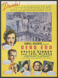 "Movie Posters:Crime, Dead End (United Artists, 1937). Herald (9"" X 12""). Crime.. ..."