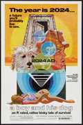 """Movie Posters:Science Fiction, A Boy and His Dog (Aquarius Releasing, 1975). One Sheet (27"""" X41""""). Science Fiction.. ..."""